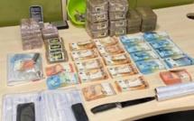 Agglo de Rouen : 7,5 kg de résine de cannabis et 27 600€ saisis, quatre interpellations