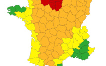 La Seine-Maritime et l'Eure maintenus en vigilance rouge canicule cet après-midi