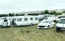 Une centaine de caravanes des gens du voyage à Val-de-Reuil pour quinze jours