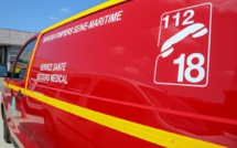 Seine-Maritime : face-à-face entre poids-lourds à Aumale, les deux conducteurs sont blessés