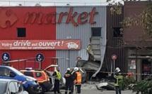 Un malfaiteur fait exploser le distributeur de billets dans un supermarché des Yvelines
