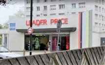 Rouen : une supérette  attaquée ce matin à la voiture-bélier dans le quartier de la Grand-Mare