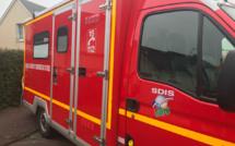 Bernay : un bus de transport scolaire vide impliqué dans un accident, le conducteur est blessé