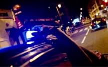 A l'arrivée des policiers, les voleurs ont pris la fuite mais ont été rapidement interpellés ensuite - Illustration