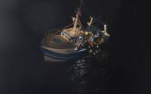 Quatre marins-pêcheurs recueillis en pleine nuit après une voie d'eau sur leur navire au large de Fécamp