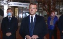 Professeur décapité dans les Yvelines : «il a été victime d'un attentat terroriste caractérisé», déclare Emmanuel Macron