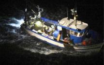 Un marin-pécheur blessé évacué par l'hélicoptère de la Marine vers l'hôpital du Havre, cette nuit