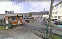 Eure : 40 sapeurs-pompiers et trois lances pour venir à bout d'un incendie chez Howa Tramico à Brionne