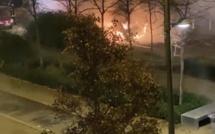 Violences urbaines : une voiture et des poubelles en feu ce mardi soir sur les hauts de Rouen