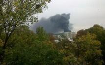Feu d'hydrocarbures sur le pont Mathilde : le film de l'accident et ses conséquences