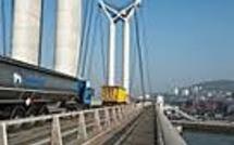 Pont Flaubert à Rouen : fumée suspecte sur un camion transportant 32.000 litres de carburant