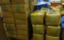 Saisie record au Perthus : 6,8 tonnes de résine de cannabis dans le camion espagnol