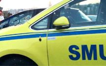 Seine-Maritime : la moto percute un poteau en béton à Colleville, le pilote est grièvement blessé
