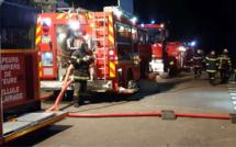 Des sapeurs-pompiers venus de quatre centres d'incendie et de secours du secteur ont été mobilisés jusqu'à 2h30 ce matin - Illustration