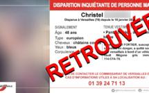 Disparition inquiétante dans les Yvelines : Christel a été retrouvée