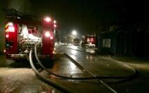 Eure : un garage-atelier embrasé à Morainville-Jouveaux, seize sapeurs-pompiers sur place