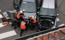 Eure : quatre voitures se télescopent à Manneville-sur-Risle, un blessé grave