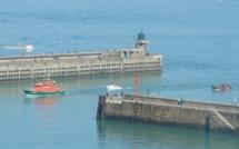 Un homme tombé à la mer au large de Dieppe récupéré sain et sauf