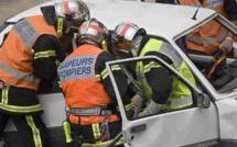 Seine-Maritime : la voiture fait une chute de 7 m en contrebas de la route à Cany-Barville