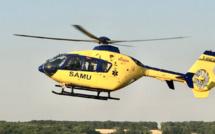 Pays de Caux : coincé sous une branche lors d'une opération d'élagage, le blessé est héliporté