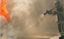 Eure : très violent incendie dans une exploitation agricole, 44 sapeurs-pompiers engagés