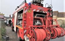 Eure : un garage et un cabanon ravagés par les flammes à Bouquetot