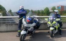 Vitesse : le nouveau radar des motards de la police fait des ravages en Seine-Maritime