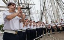 Armada de Rouen : Le Bagad de Lann-Bihoué ouvrira le défilé de la Marine nationale