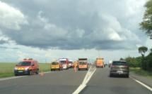 Accident sur l'ex RN 13 à Caillouet-Orgeville : circulation perturbée dans les deux sens