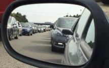 Week-end de l'Ascension: circulation très soutenue sur l'A13 entre la Normandie et Paris