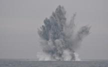 Des mines sous-marines allemandes détruites au large de la Seine-Maritime