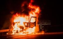 Un camion de 44 tonnes prend feu : la route coupée plus de 4 heures entre Pacy et Saint-André-de-l'Eure
