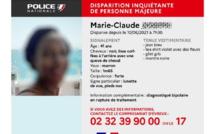 Disparition inquiétante à Evreux : Marie-Claude J. a regagné son domicile, elle est saine et sauve