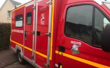 Eure : collision entre un camion et une voiture sur la D 321, un blessé en urgence absolue