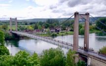 Eure : le pont suspendu des Andelys fermé à la circulation lundi et mardi