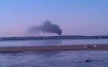 Gonfreville-l'Orcher : une fumée noire suspecte au dessus de la raffinerie Total