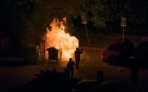 L'incendiaire de poubelle, fortement alcoolisé, est filmé par un témoin, près de Rouen