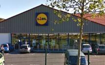 Un malfaiteur solitaire braque le magasin Lidl à Grand-Couronne