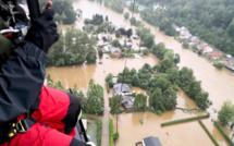 Seine-Maritime : deux sauveteurs aquatiques du SDIS 76 sur le front des inondations en Belgique