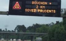 Plus de 1000 km de bouchons à midi en France : une situation exceptionnelle, selon Bison futé