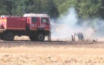 Dans l'Eure, 10 hectares d'orge sont partis en fumée à Mandres
