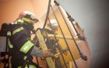 Seine-Maritime : une personne légèrement brûlée et intoxiquée dans un feu de chambre au Tréport