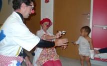 Enfants hospitalisés : le maire du Havre soutient l'association Clown'Hôp