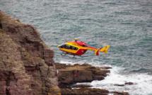 A Etretat, un promeneur blessé après avoir glissé et chuté lourdement dans les rochers