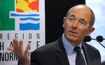 """Le président de la Région Haute-Normandie """"passe la main"""" pour """"ouvrir un nouveau livre"""""""