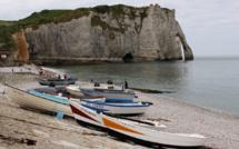 Bloqués par la marée, deux touristes espagnols secourus au «Trou à l'homme» à Étretat