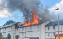 Feu de toiture dans une résidence des Grandes-Ventes : 14 personnes dont 6 enfants évacuées