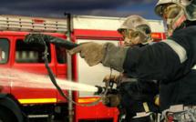 Rouen : une voiture s'enflamme  lors d'un accident, son conducteur prend la fuite