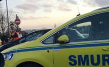 Sa voiture percute un arbre sur la RN27 entre Rouen et Dieppe : un automobiliste blessé grièvement