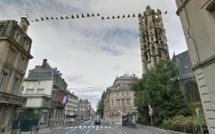 Rouen : La rue Lecanuet va faire une place aux vélos après plus d'un mois de travaux